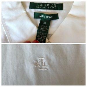 Lauren Ralph Lauren Tops - Quick Look RL Button Downs XL White
